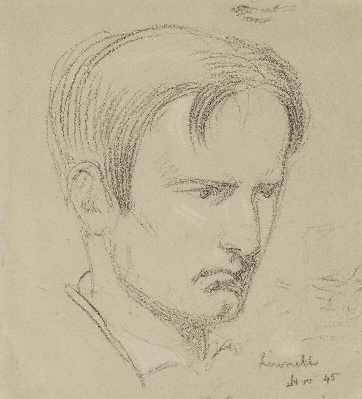 Linnell, by Charles Hutton Lear, circa 1845 - NPG 1456(16) - © National Portrait Gallery, London