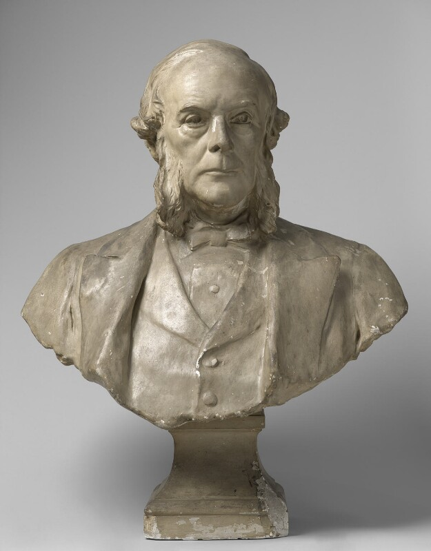 Joseph Lister, Baron Lister, by Sir Thomas Brock, circa 1912-1913 - NPG 1958 - © National Portrait Gallery, London