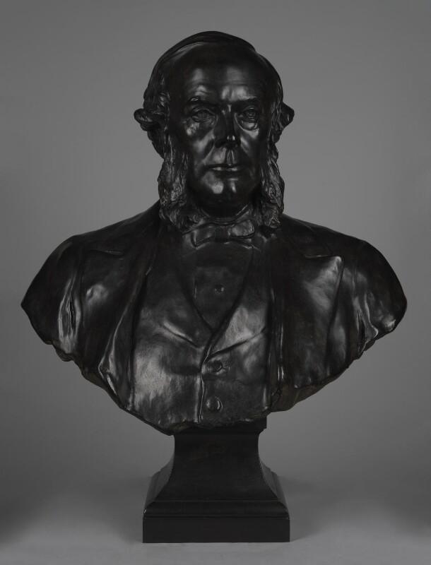 Joseph Lister, Baron Lister, by Sir Thomas Brock, 1927, based on a work of circa 1912-1913 - NPG 1958a - © National Portrait Gallery, London