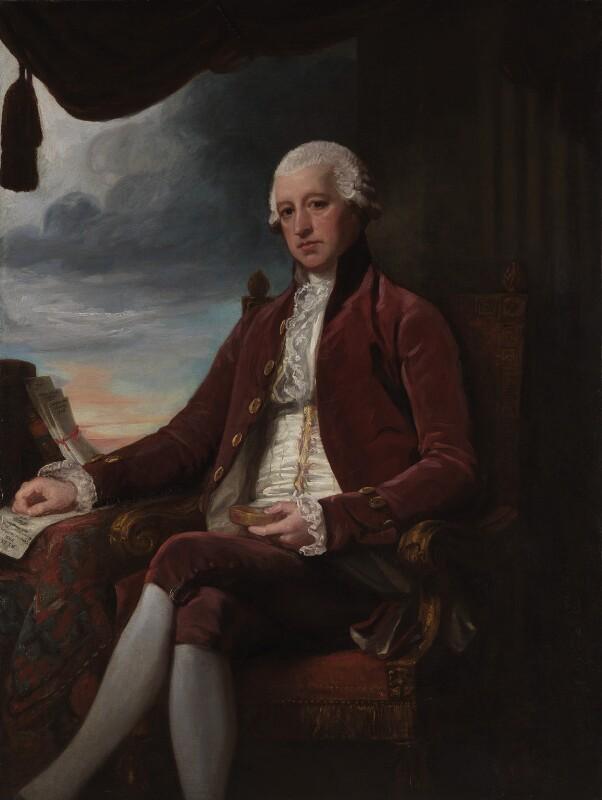 Charles Jenkinson, 1st Earl of Liverpool, by George Romney, 1786-1788 - NPG 5206 - © National Portrait Gallery, London