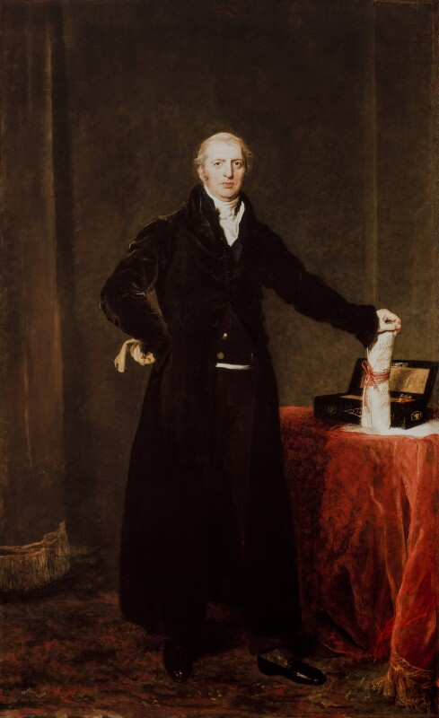 Robert Banks Jenkinson, 2nd Earl of Liverpool, by Sir Thomas Lawrence, exhibited 1827 - NPG 1804 - © National Portrait Gallery, London