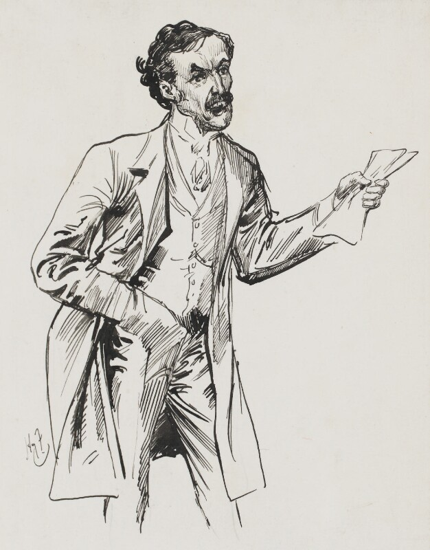 David Lloyd George, by Harry Furniss, 1880s-1900s - NPG 3397 - © National Portrait Gallery, London