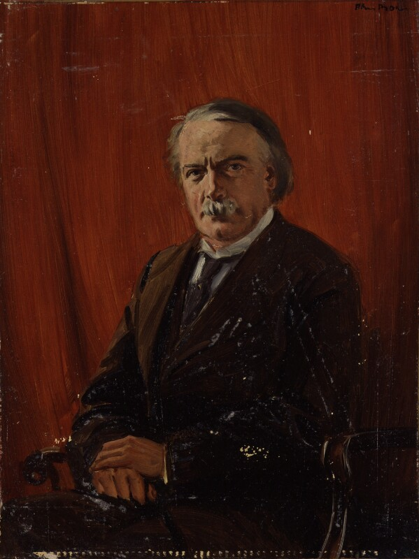 David Lloyd George, after Unknown photographer, based on a work of circa 1917 - NPG 4340 - © National Portrait Gallery, London