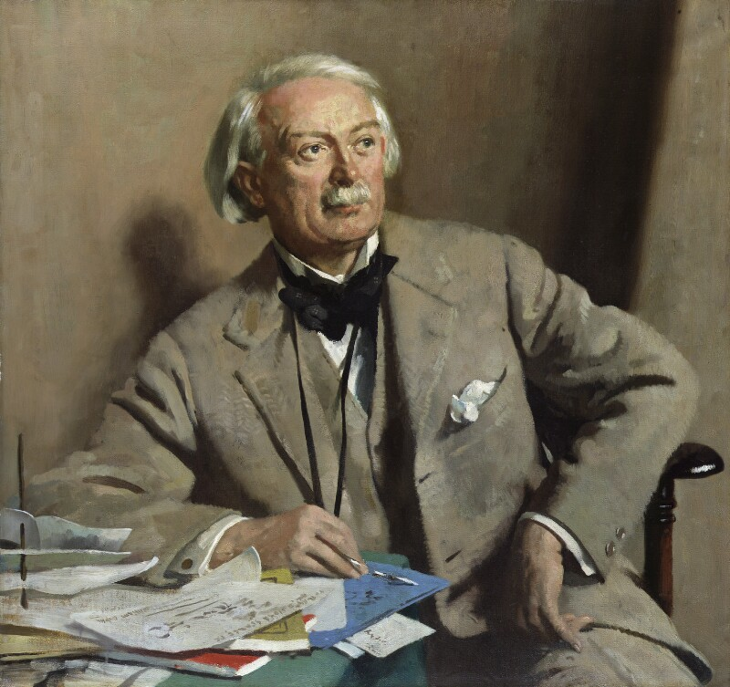 David Lloyd George, by Sir William Orpen, 1927 - NPG 3244 - © National Portrait Gallery, London
