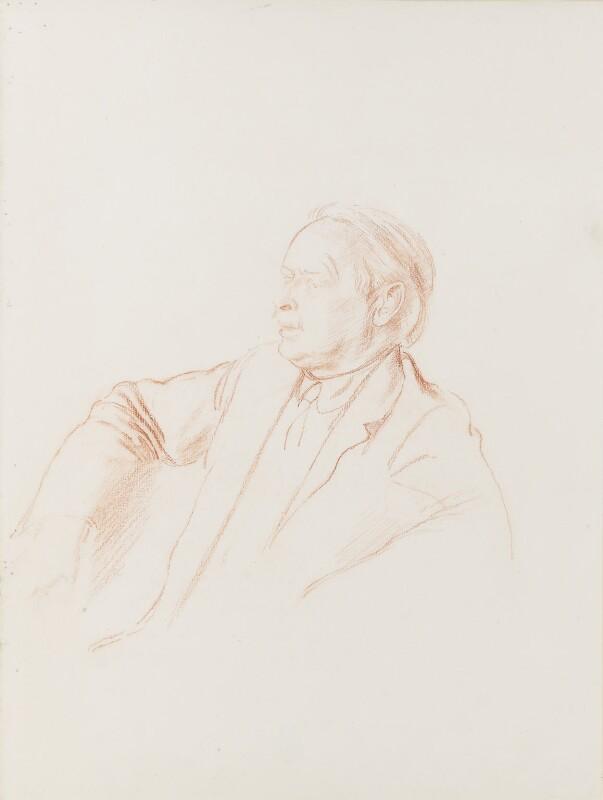 David Lloyd George, by Robin Craig Guthrie, 1934 - NPG 3261 - © estate of Robin Craig Guthrie / National Portrait Gallery, London