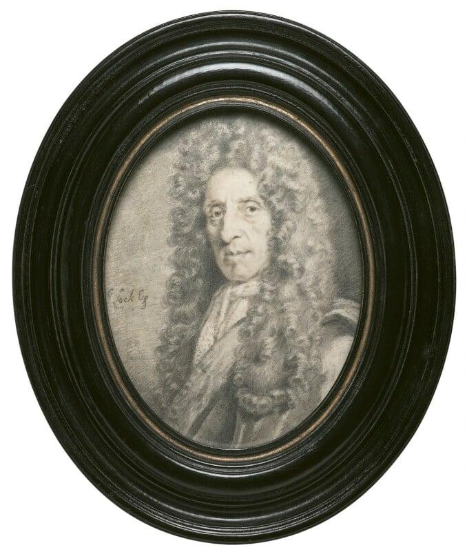 John Locke, by Sylvester Brounower, circa 1693 - NPG 4061 - © National Portrait Gallery, London