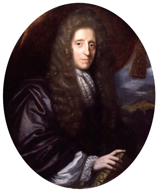 John Locke, by Herman Verelst, 1689 - NPG 3846 - © National Portrait Gallery, London