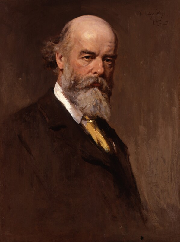 Sir Oliver Joseph Lodge, by Sir George Reid, circa 1907 - NPG 3952 - © National Portrait Gallery, London