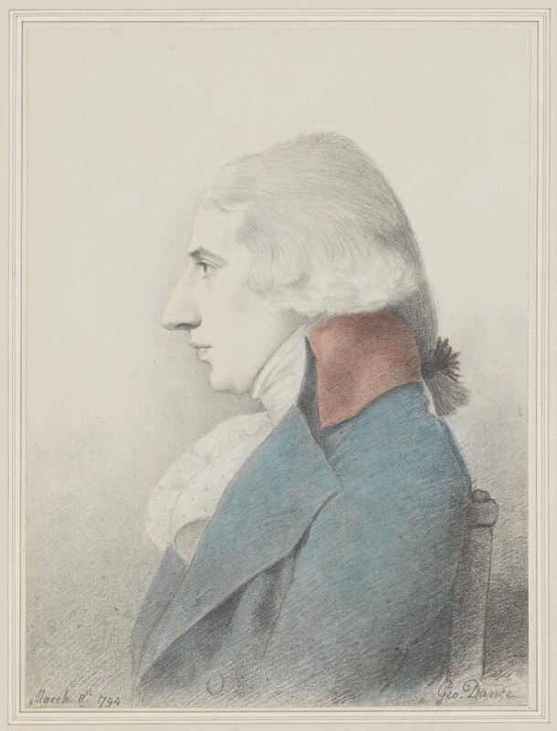 Robert Stewart, 2nd Marquess of Londonderry (Lord Castlereagh), by George Dance, 1794 - NPG 1141 - © National Portrait Gallery, London