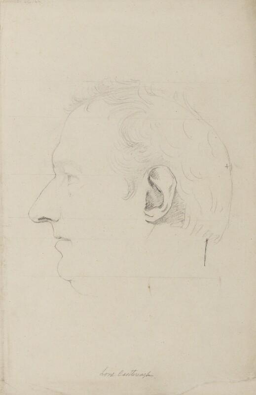 Robert Stewart, 2nd Marquess of Londonderry (Lord Castlereagh), by Sir Francis Leggatt Chantrey, 1820 - NPG 316a(13a) - © National Portrait Gallery, London