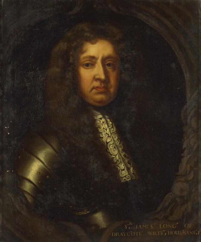 Sir James Long, 2nd Bt, by Unknown artist,  - NPG 4638 - © National Portrait Gallery, London