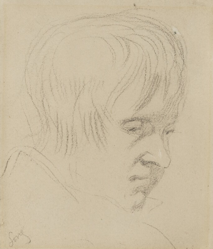 William Long, by Charles Hutton Lear, circa 1845 - NPG 1456(18) - © National Portrait Gallery, London