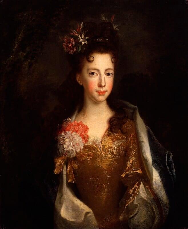 Princess Louisa Maria Theresa Stuart, attributed to Alexis Simon Belle, circa 1702-1706 - NPG 1658 - © National Portrait Gallery, London