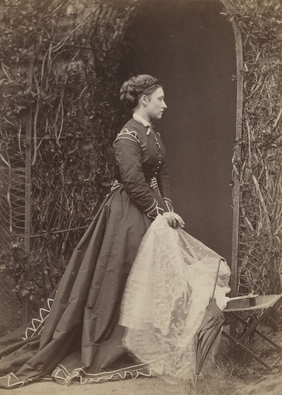 Princess Louise Caroline Alberta, Duchess of Argyll, by W. & D. Downey, 1868 - NPG P22(6) - © National Portrait Gallery, London