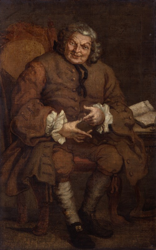 Simon Fraser, 11th Baron Lovat, after William Hogarth, after 1746, based on a work of 1746 - NPG 216 - © National Portrait Gallery, London