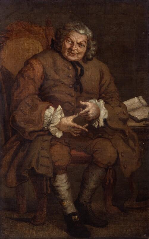 Simon Fraser, 11th Baron Lovat, after William Hogarth, after 1746, based on a work of 1746 - NPG 216 - © National Portrait Gallery, London