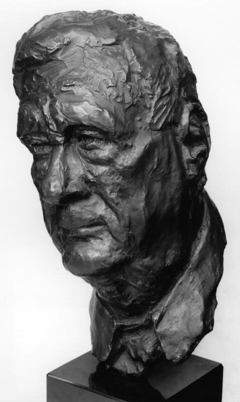 L.S. Lowry, by Samuel Tonkiss, 1971 - NPG 5091 - Photograph © National Portrait Gallery, London