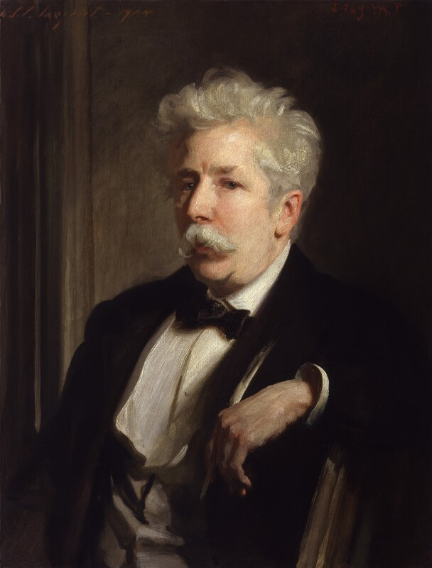 Sir Henry William Lucy, by John Singer Sargent, 1904 - NPG 2930 - © National Portrait Gallery, London