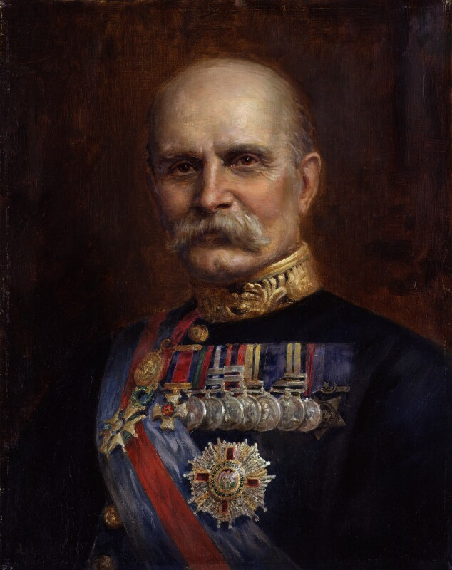 Frederick Lugard, 1st Baron Lugard, copy by W.J. Carrow, after  Unknown photographer, 1936, based on a work of 1929 - NPG 3306 - © National Portrait Gallery, London