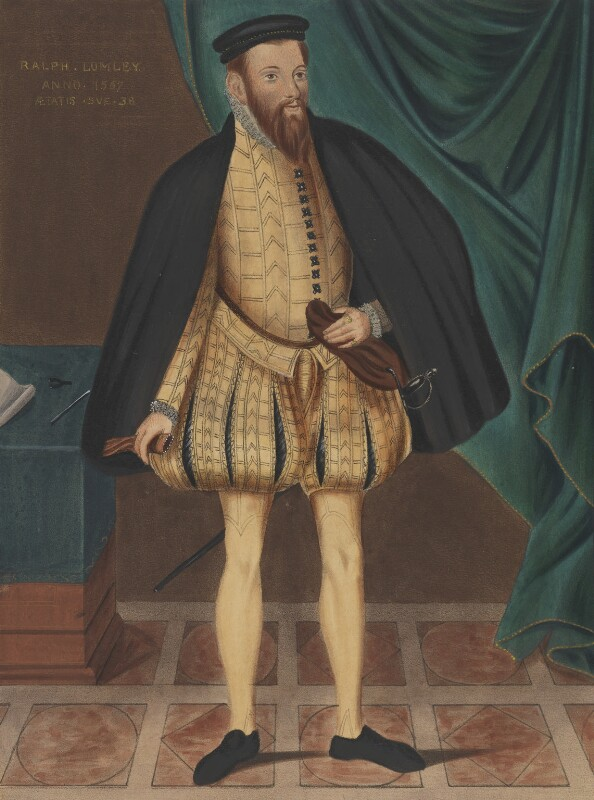 Ralph Lumley, copy attributed to George Perfect Harding, after  Unknown artist, 19th century, based on a work of 1567 - NPG 2492 - © National Portrait Gallery, London