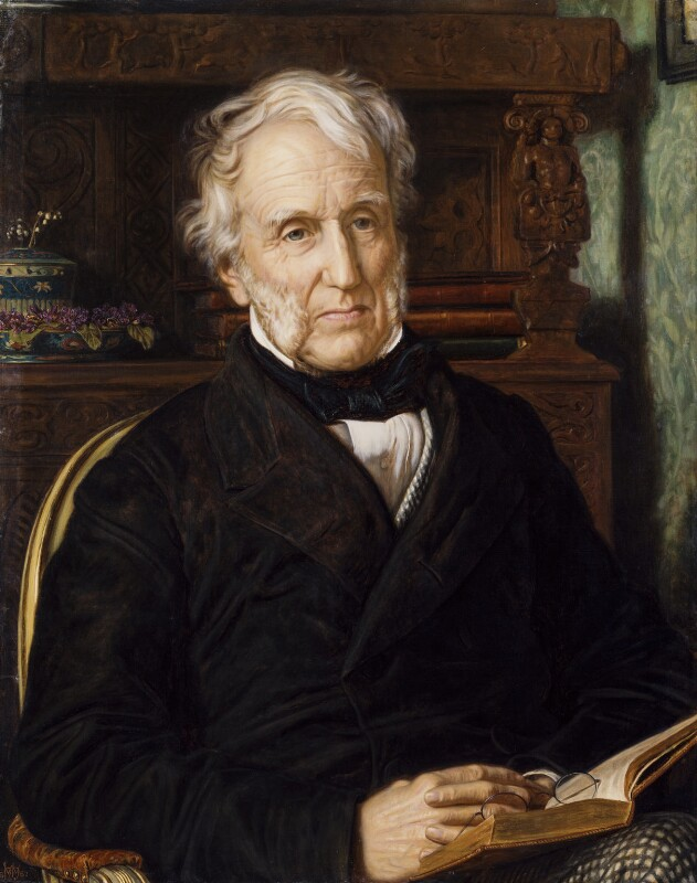Stephen Lushington, by William Holman Hunt, 1862 - NPG 1646 - © National Portrait Gallery, London