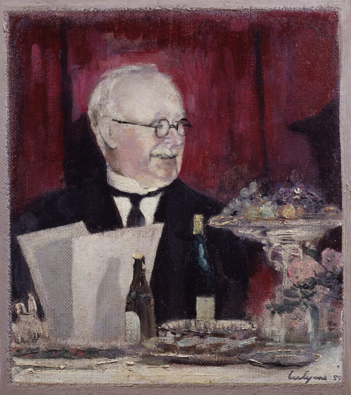 Sir Edwin Lutyens, by Robert Lutyens, 1959 - NPG 4481 - © National Portrait Gallery, London