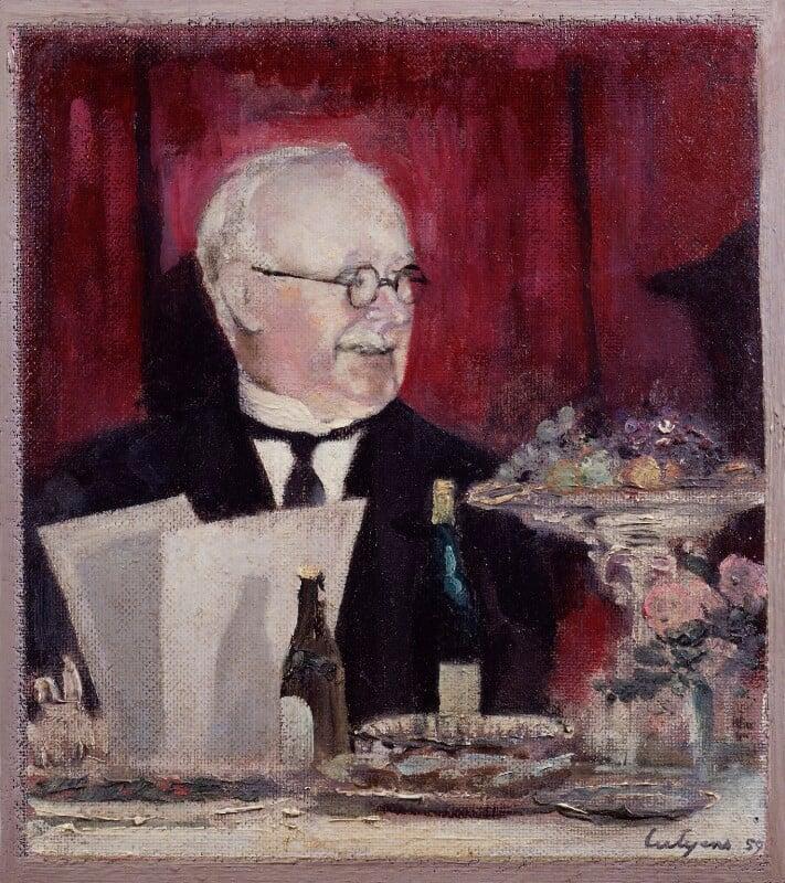 Sir Edwin Lutyens, by Robert Lutyens, 1959 - NPG 4481 - © National Portrait Gallery, London