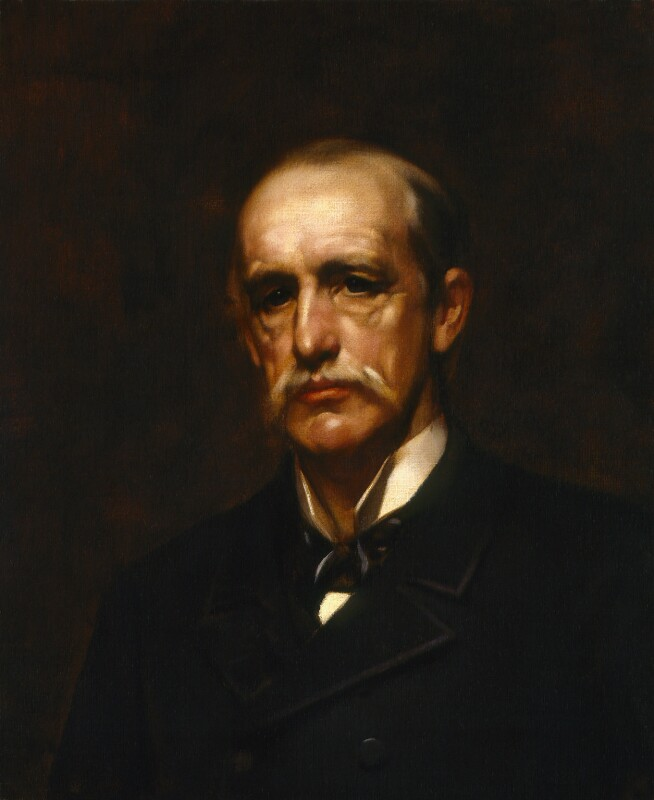 Sir Alfred Comyn Lyall, by Henry John Hudson, after  Sir James Jebusa Shannon, (1890) - NPG 2170 - © National Portrait Gallery, London