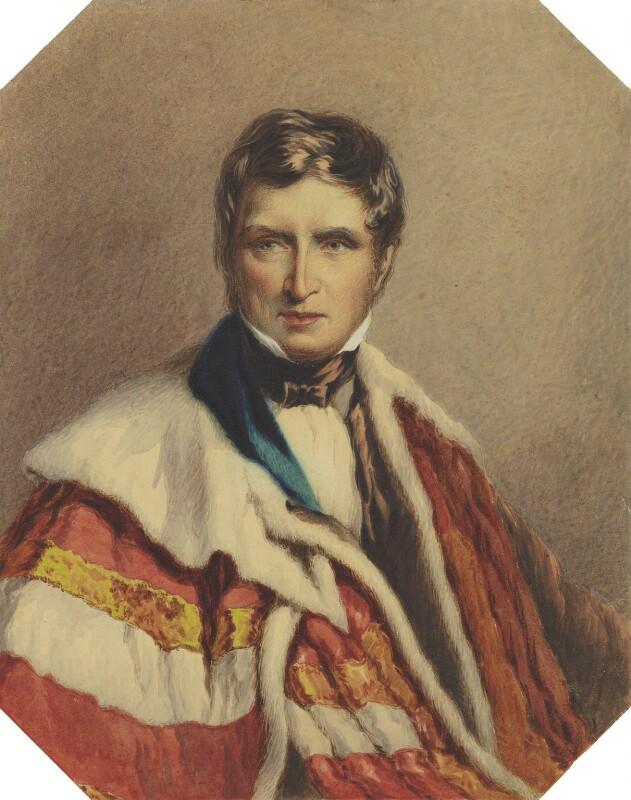 John Singleton Copley, Baron Lyndhurst, by Felix Roffe, circa 1836 - NPG 4121 - © National Portrait Gallery, London