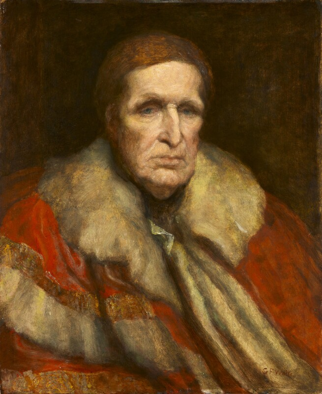 John Singleton Copley, Baron Lyndhurst, by George Frederic Watts, 1862 -NPG 683 - © National Portrait Gallery, London