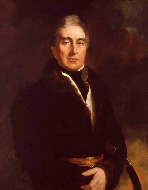 Thomas Graham, Baron Lynedoch, replica by Sir George Hayter, 1823 - NPG 1037 - © National Portrait Gallery, London