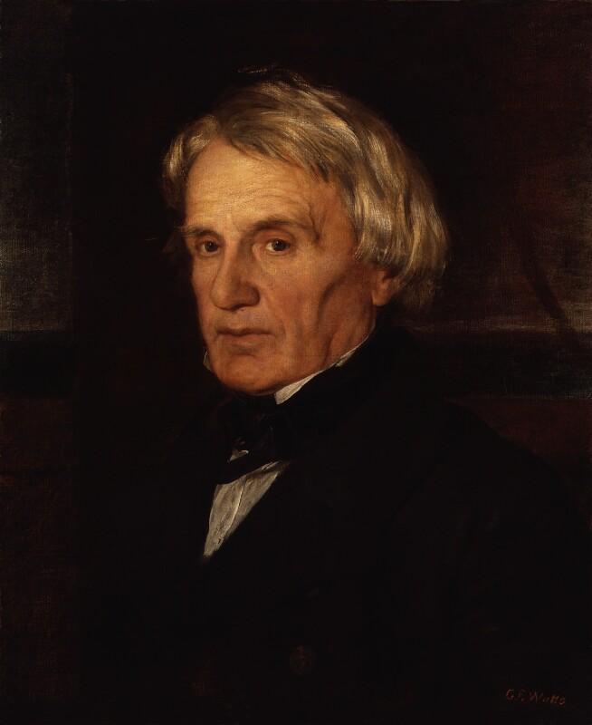 Edmund Lyons, 1st Baron Lyons, by George Frederic Watts, 1856-1857 - NPG 685 - © National Portrait Gallery, London