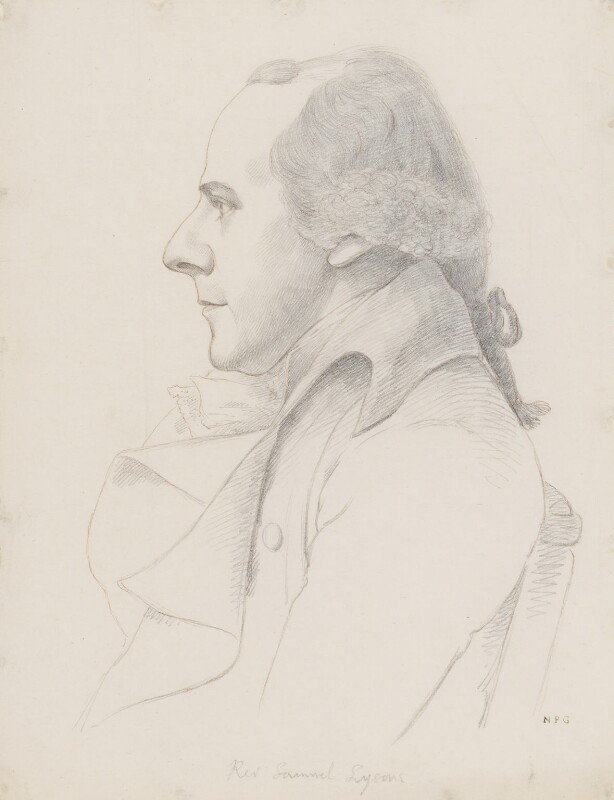 Samuel Lysons, by William Daniell; George Dance, circa 1802-1814, based on a work of 1793 -NPG 3089(11) - © National Portrait Gallery, London