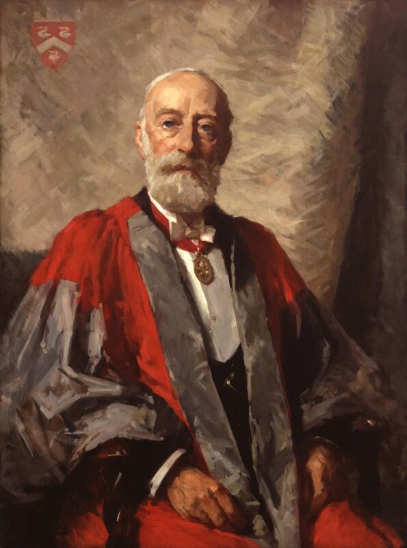 Sir Henry Churchill Maxwell Lyte, by Samuel Melton Fisher, 1933 - NPG 3937 - © National Portrait Gallery, London
