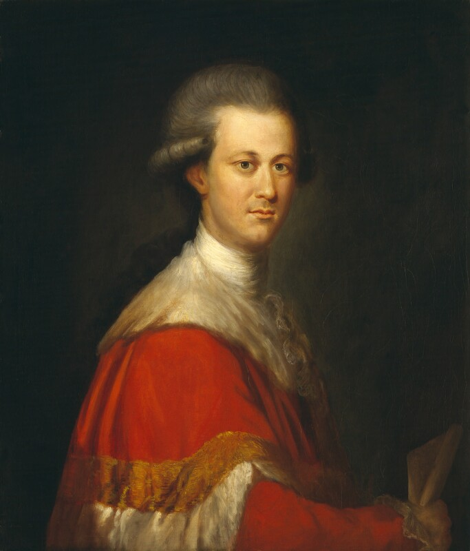 Thomas Lyttelton, 2nd Baron Lyttelton, attributed to Richard Brompton, circa 1775 - NPG 1446 - © National Portrait Gallery, London