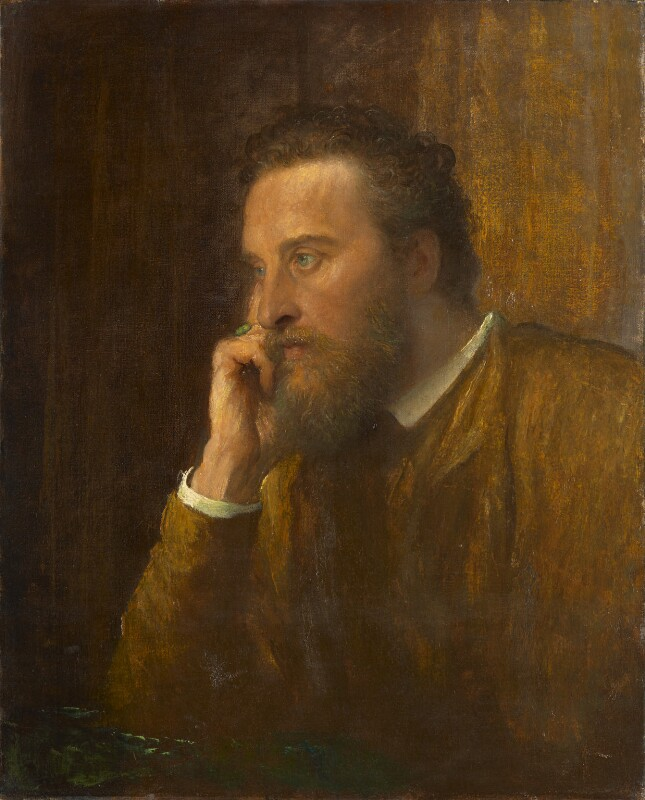 Edward Robert Bulwer-Lytton, 1st Earl of Lytton, by George Frederic Watts, 1884 - NPG 1007 - © National Portrait Gallery, London