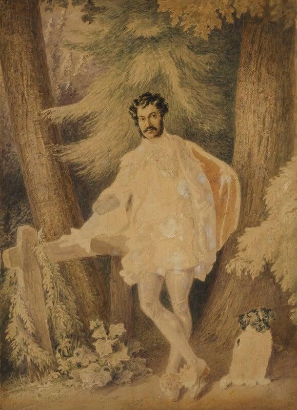 Unknown man, formerly known as Edward George Earle Lytton Bulwer-Lytton, 1st Baron Lytton, by Alfred Edward Chalon,  -NPG 1099 - © National Portrait Gallery, London