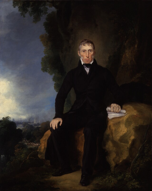 John Loudon McAdam, by Unknown artist, circa 1830 - NPG 3686 - © National Portrait Gallery, London