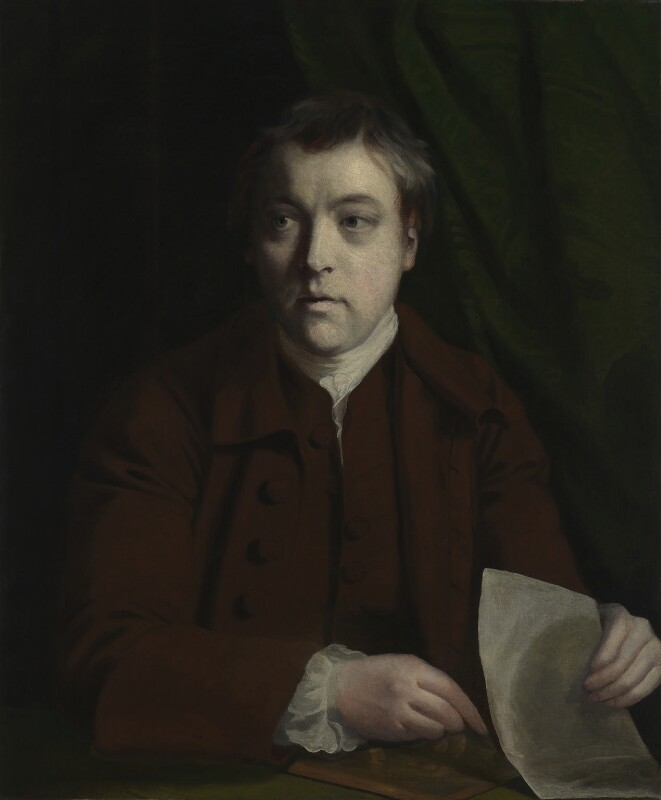 James Macardell, by Sir Joshua Reynolds, circa 1756-1760 - NPG 3123 - © National Portrait Gallery, London