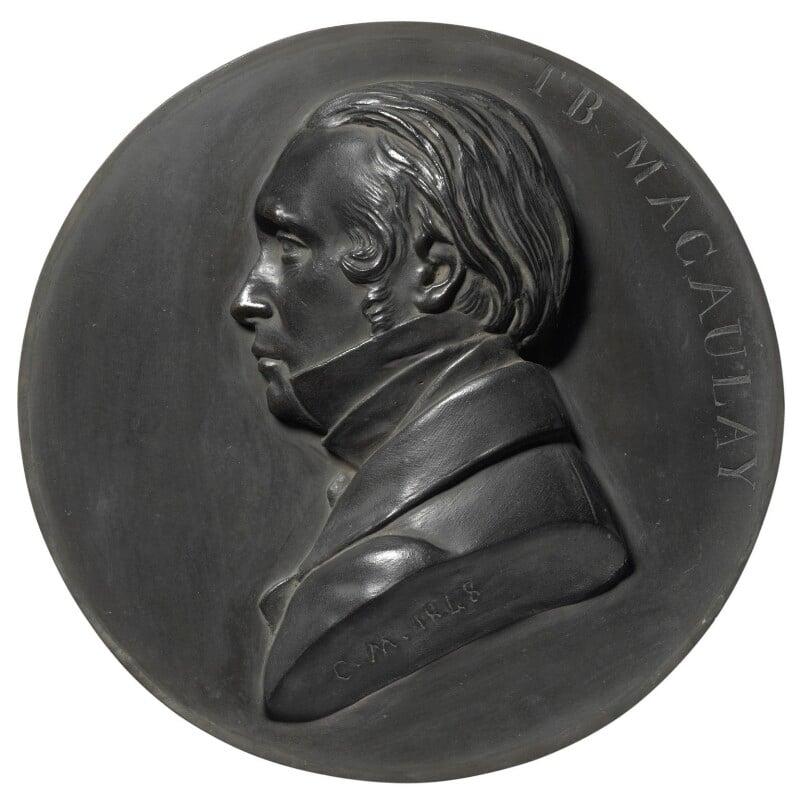 Thomas Babington Macaulay, Baron Macaulay, by (Pietro) Carlo Giovanni Battista Marochetti, Baron Marochetti, 1848 - NPG 257 - © National Portrait Gallery, London