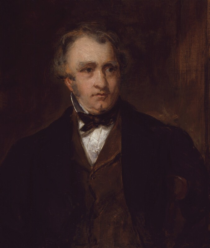 Thomas Babington Macaulay, Baron Macaulay, by Sir Francis Grant, 1853 - NPG 453 - © National Portrait Gallery, London