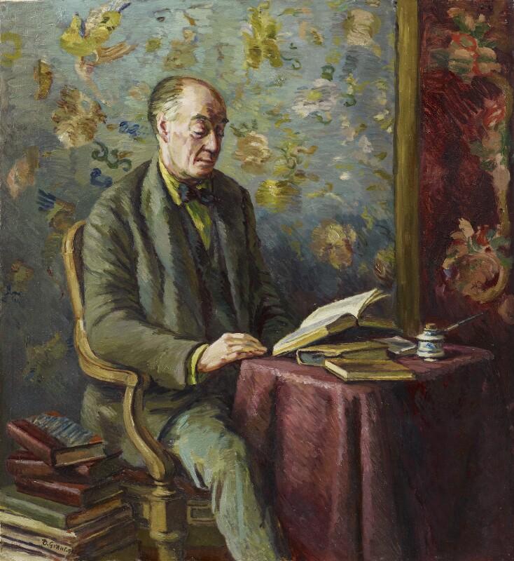 Sir Desmond MacCarthy, by Duncan Grant, 1944 - NPG 4842 - © DACS 2018