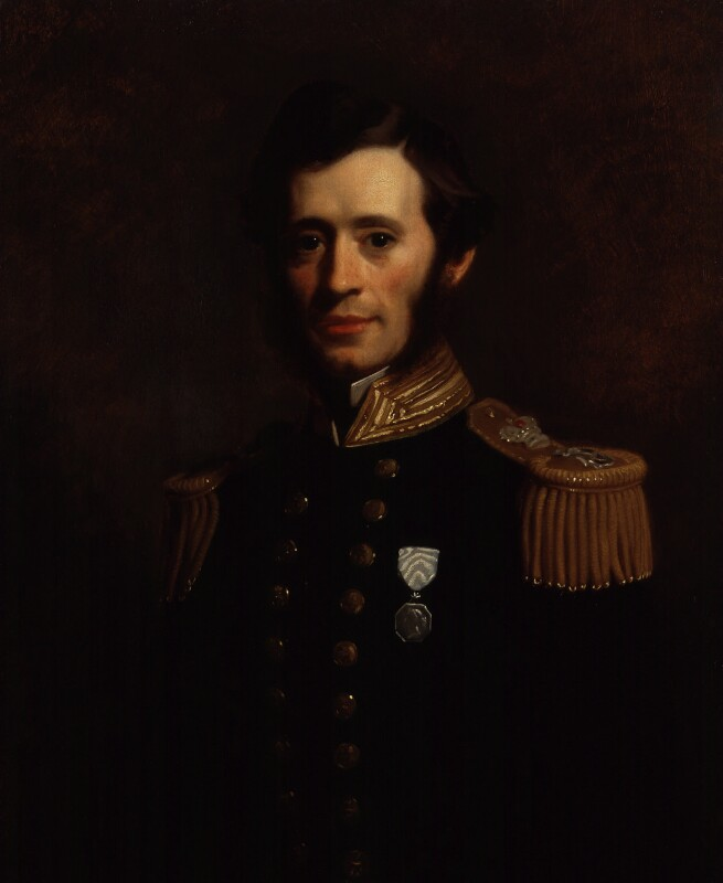 Sir (Francis) Leopold McClintock, by Stephen Pearce, 1856 -NPG 1226 - © National Portrait Gallery, London