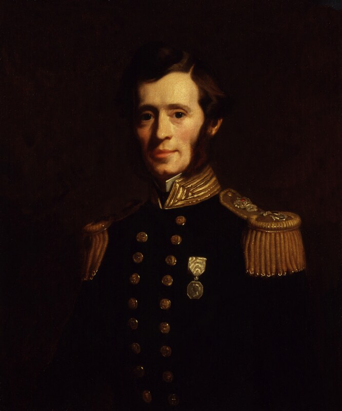 Sir (Francis) Leopold McClintock, replica by Stephen Pearce, 1856 - NPG 919 - © National Portrait Gallery, London