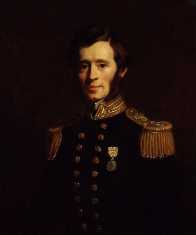 Sir (Francis) Leopold McClintock, by Stephen Pearce, 1856 -NPG 919 - © National Portrait Gallery, London