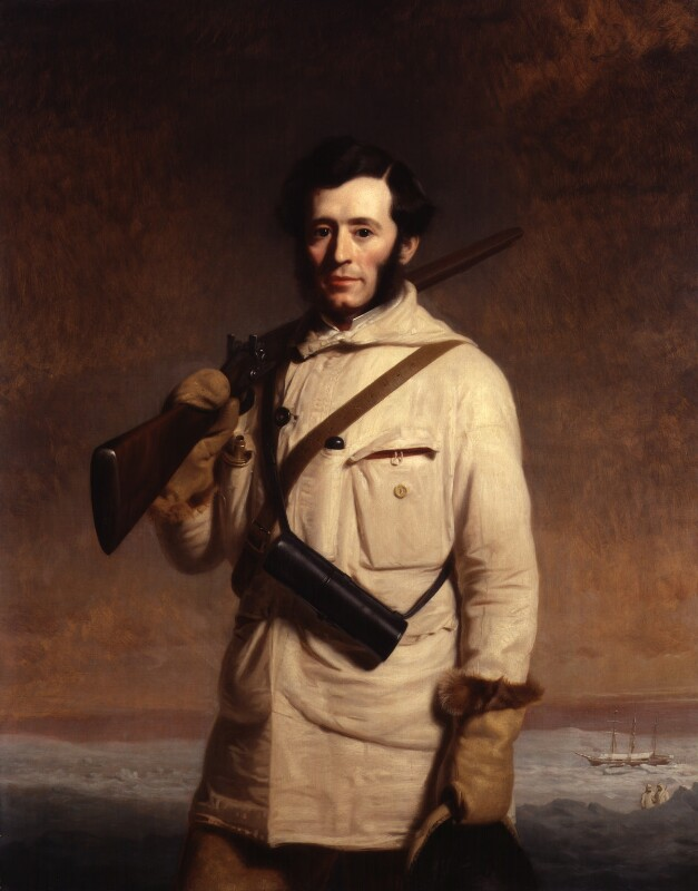 Sir (Francis) Leopold McClintock, by Stephen Pearce, 1859 - NPG 1211 - © National Portrait Gallery, London