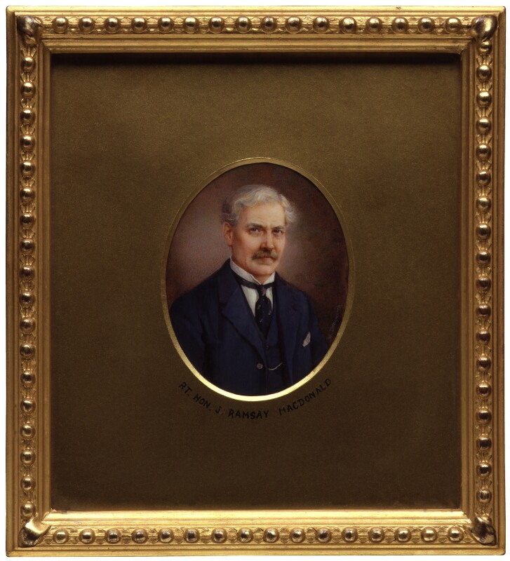 Ramsay MacDonald, by Winifred Cécile Dongworth, 1920-1930 - NPG 5029 - © National Portrait Gallery, London