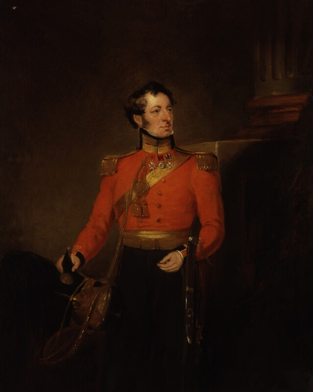 Sir James Wallace Sleigh, by William Salter, 1834-1840 - NPG 3753 - © National Portrait Gallery, London