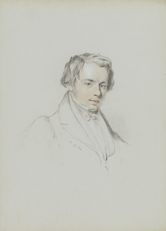 Charles Macfarlane, by William Brockedon, 1832 -NPG 2515(60) - © National Portrait Gallery, London