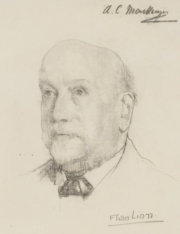 Sir Alexander Campbell Mackenzie, by Flora Lion, circa 1912 - NPG 3972 - © National Portrait Gallery, London